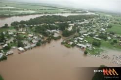 A series of floods hit Queensland, Australia, beginning in December 2010 including Brisbane. The floods forced the evacuation of thousands of people from towns and cities. At least 70 towns and over 200,000 people were affected.