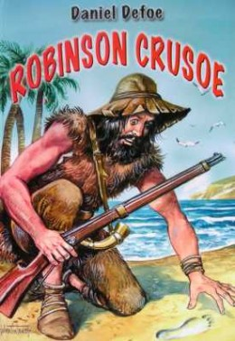Robinson Crusoe is a classic piece of literature, and one that the admissions officer is sure to be familiar with.