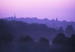 Dawn on Hampstead Heath