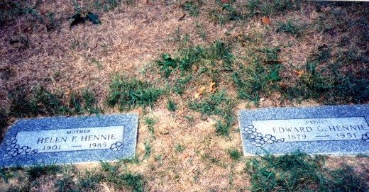 my father and grandmother's graves