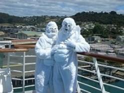 On a cruise to Tasmania