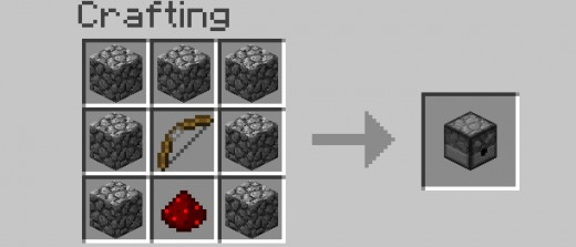 Minecraft   Dispenser Crafting
