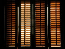 Consider D-I-Y shutter installation to stay on budget