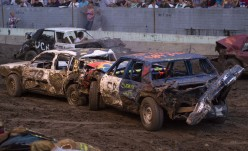 Demolition Derby: A True Romantic Tale of My First Experience Driving in Crash Racing