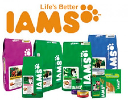 Iams logo p&g product