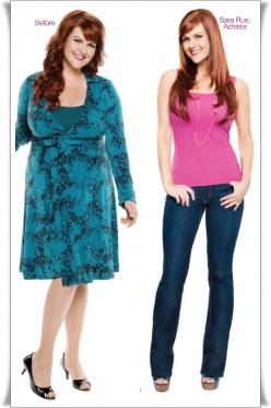 Actress Sara Rue lost 50 lbs on Jenny Craig, source: Jenny Craig