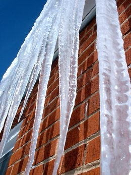 Beware the mighty icicles!