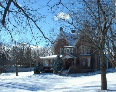 A winter wonderland - a Christmas card