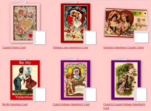 Unique Vintage Valentine's Day cards are as special to give out as the sweetheart is in your life. Customize these cards by giving it your personal touch. See more of these and all Sandyspider gifts at http://www.zazzle.com/sandyspider*