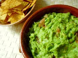 Chunky Guacamole with Habanero Peppers