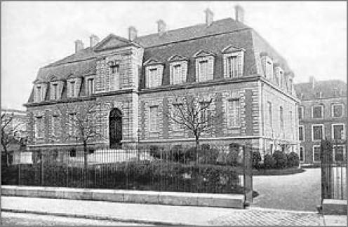 Louis Pasteur Institute In Paris