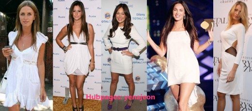 Celebs such as Lindsay Price, Megan Fox and Blake Lively are indulging in a bright and white LWD!