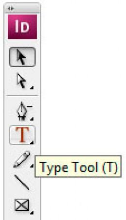 Type Tool Keyboard Shortcut
