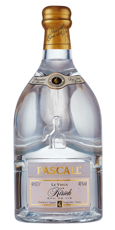 Pascall's La Vieille Prune Eau De Vie with Plum