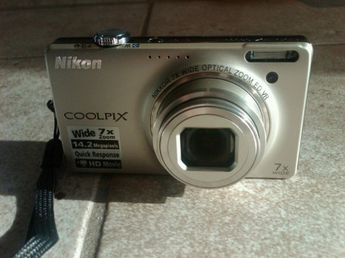 My new Nikon Coolpix S6000 digital camera