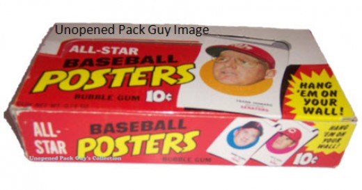 1970 Topps BB Poster Box