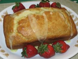 Homemade Lemon Poppyseed Bread