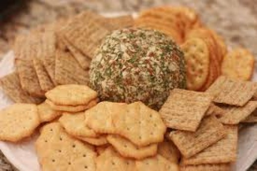 cheese balls recipe. Peppered Herb Cheese Ball