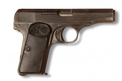 An FN 1910 of the type used by Princip to kill the Archduke. Image from Wikipedia