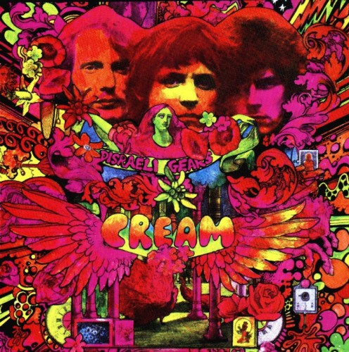 "Album cover for Cream's ""Disreali Gears"""
