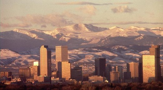Denver in the winter is magnificent