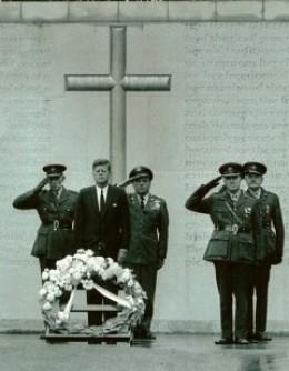 Photo of President John F Kennedy in Dublin Ireland 1963.