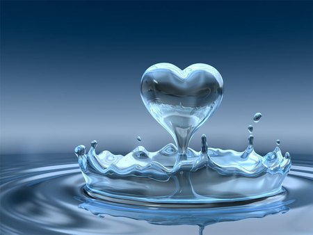 Heart is like liquid