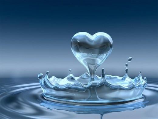 Heart is like liquid