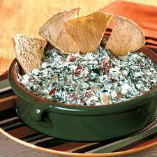 Cheesy Spinach and Sausage Dip