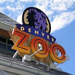 Denver Zoo Sign