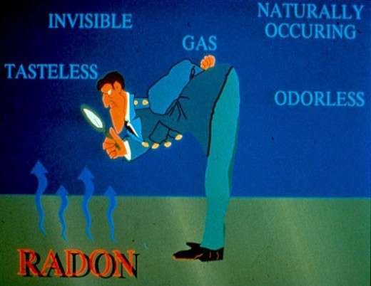 Radon is a radioactive gas which comes from the earth's crust. Radon contributes about two thirds of human exposure from natural background radiation.