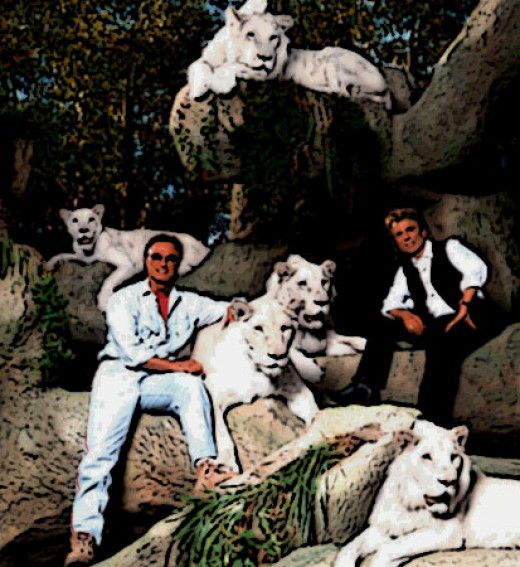 Siegfried & Roy have an impressive Big Cat Collection of their own!