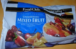 Freshly Frozen Unsweetened Mixed Fruit