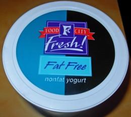 Fat Free nonfat yogurt