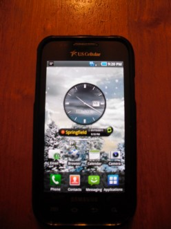Review of the Samsung Mesmerize Phone