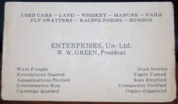 The Most Detailed Business Card
