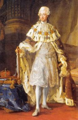 Gustav III. Image Wikipedia