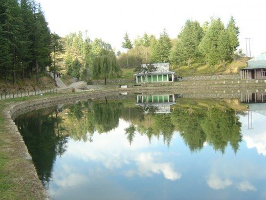 Tani Jubbar Lake in Thanedar, HP