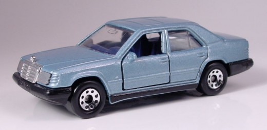1987 Matchbox Mercedes 300E. **This one was the pride and joy of my collection way back when...but it got chucked out when the teenage years hit :(
