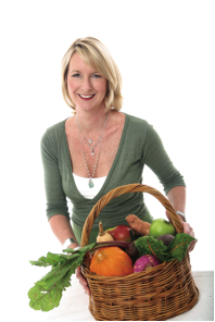 Carolyn O'Neil, co-author of The Dish on Eating Healthy and Being Fabulous!