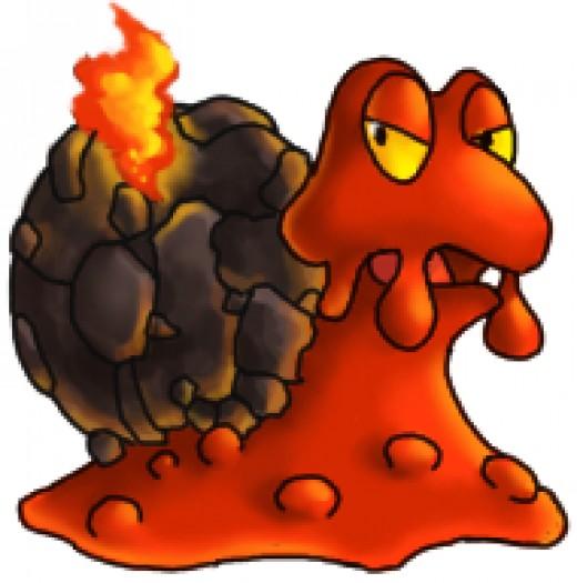 Magcargo - the Slugma Evolution