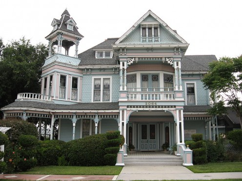 A Neat Old Victorian House would be great but I imagine the upkeep would be difficult at times.