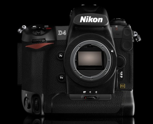 Recent possible leaked picture of the Nikon D4
