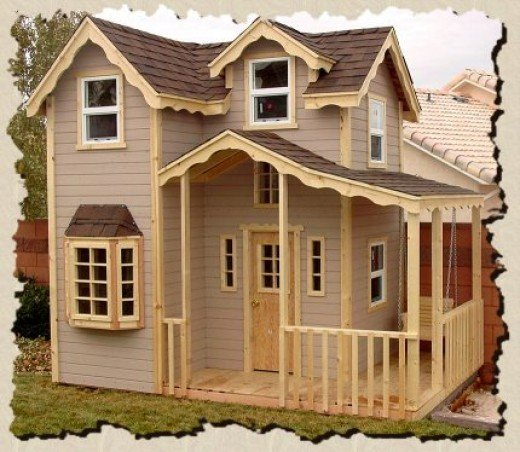 Download build your own playhouses plans free How to build outdoor playhouse