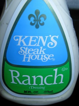 Step 17 B - Close-up details of Ken's Steak House Ranch Dressing