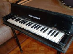 Baby Baby Grand Piano and Salesman Sample Pianos