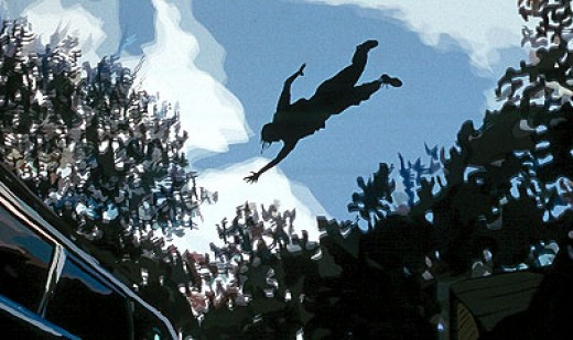 """Image from """"Waking Life"""""""