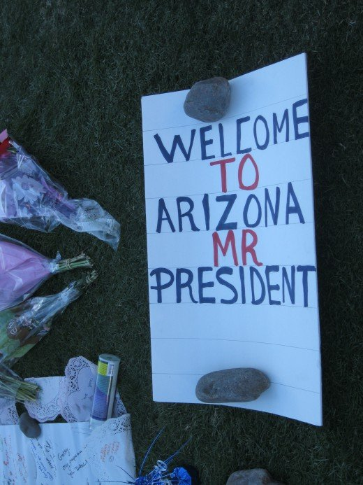 Welcome to Arizona Mr President