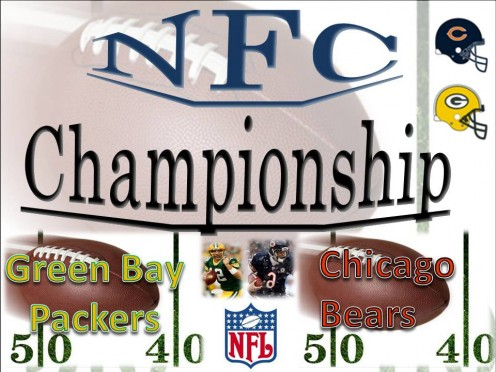 NFC North Championship Bowl-Green Bay Packers vs Chicago Bears
