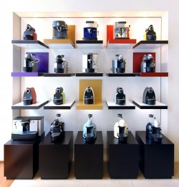 Nespresso coffee machines